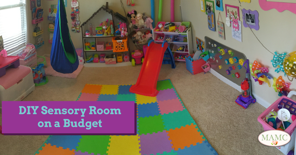 DIY Sensory Room on a Budget My Atlanta Moms Club