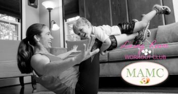 Be sneaky! Simple ways to sneak a workout into a day in the life of a mom.